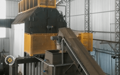 Cogeração de energia utilizando caldeira a biomassa