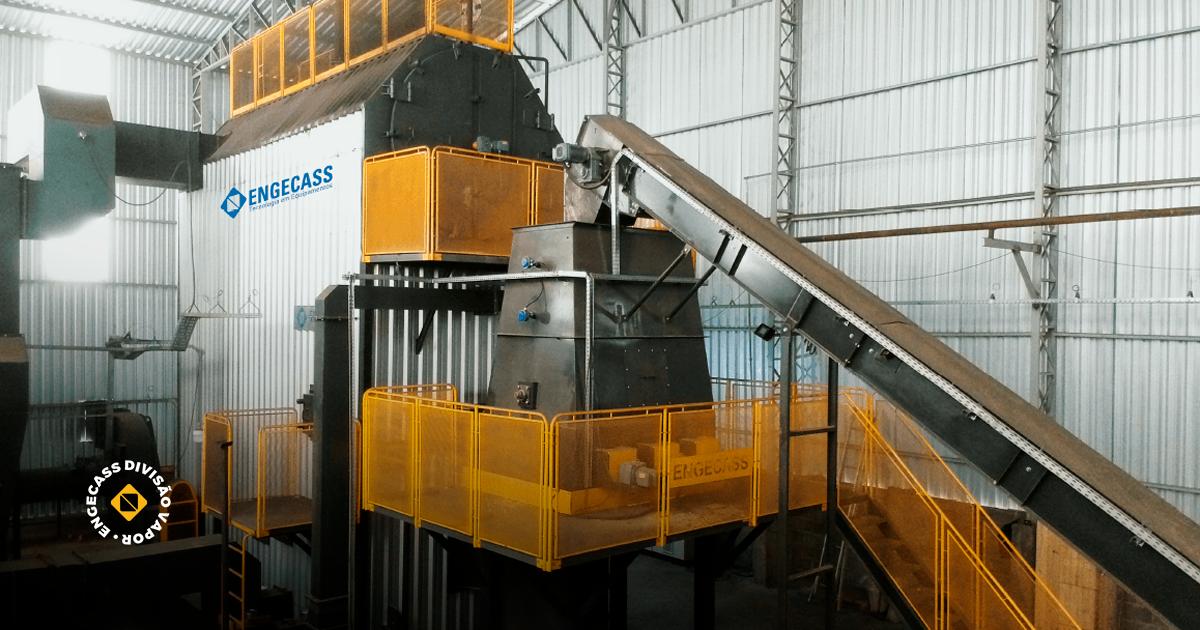 Conheça as vantagens da caldeira industrial